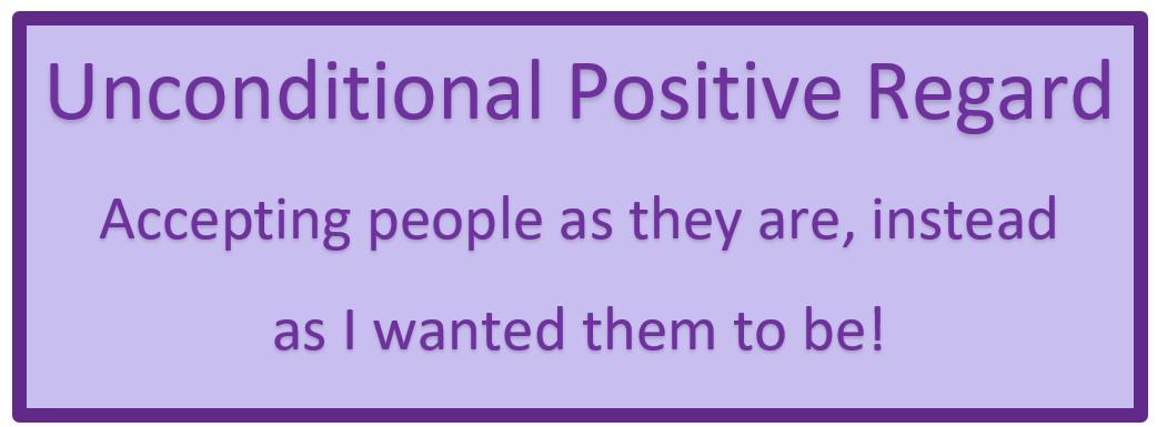 The Power of Positive Regard | NotesFromNina